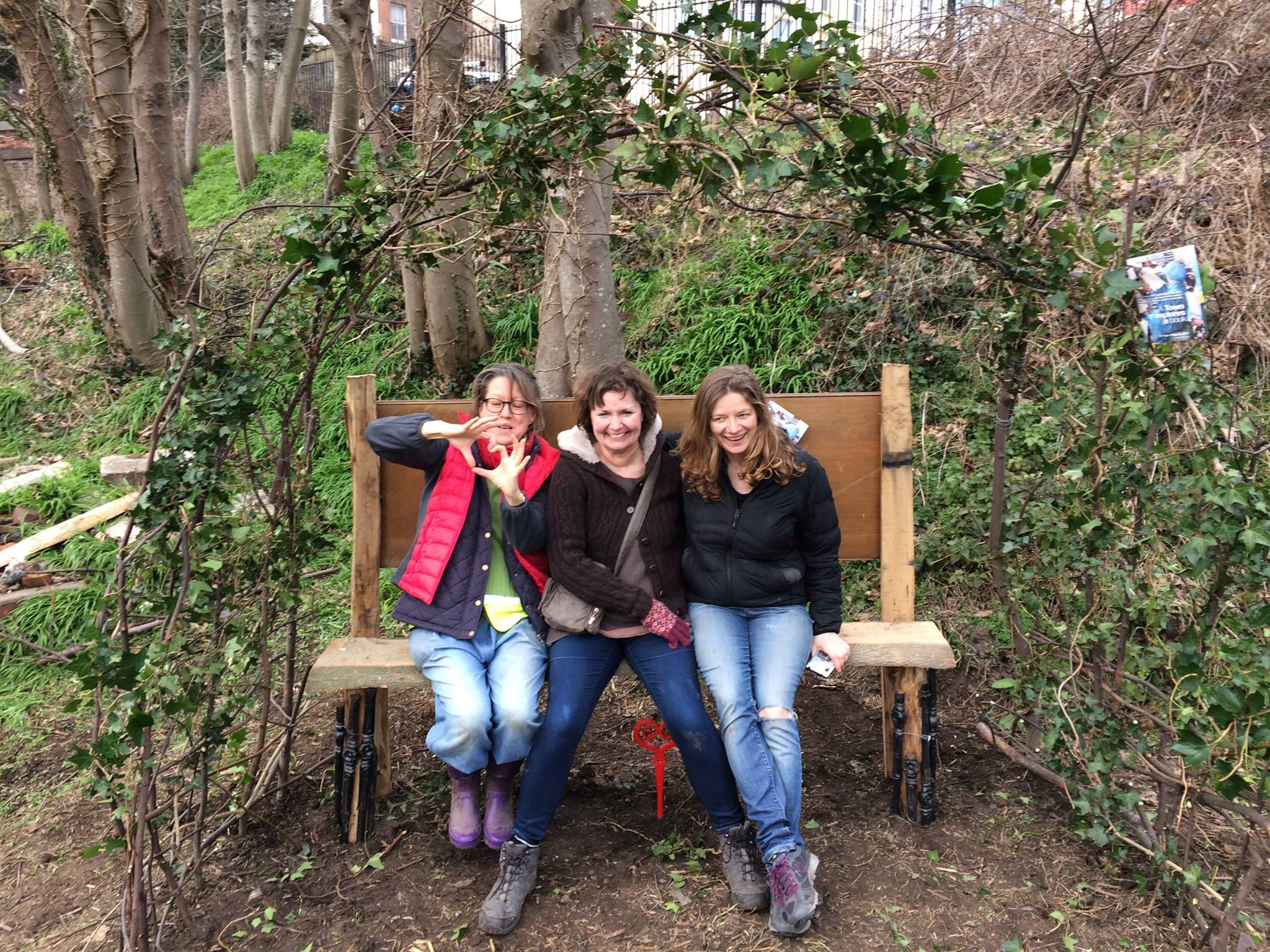 Our proposal bench at the community garden - Transition ...