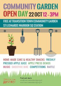 TTH Community Garden Open Day @ St Leonards Warrior Square Community Garden | England | United Kingdom