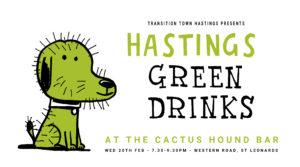 Green Drinks @ Cactus Hound, Western Road, St Leonards on Sea.