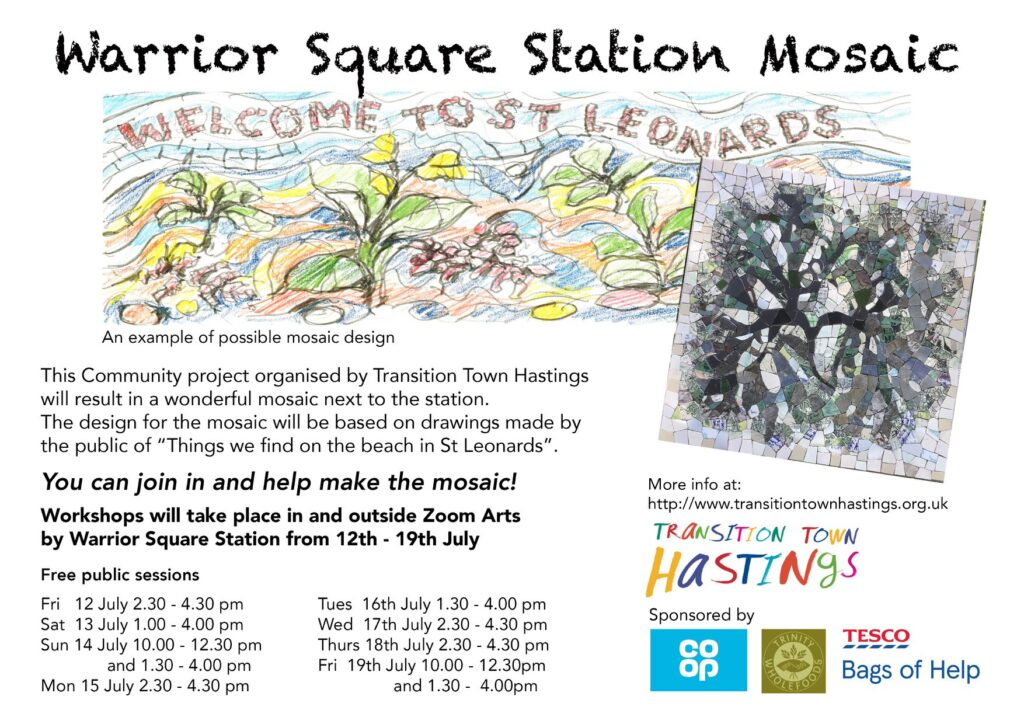 Mosaic workshops info